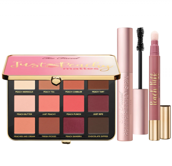 Too Faced Love Your Peaches Set – Peaches and Cream Collection